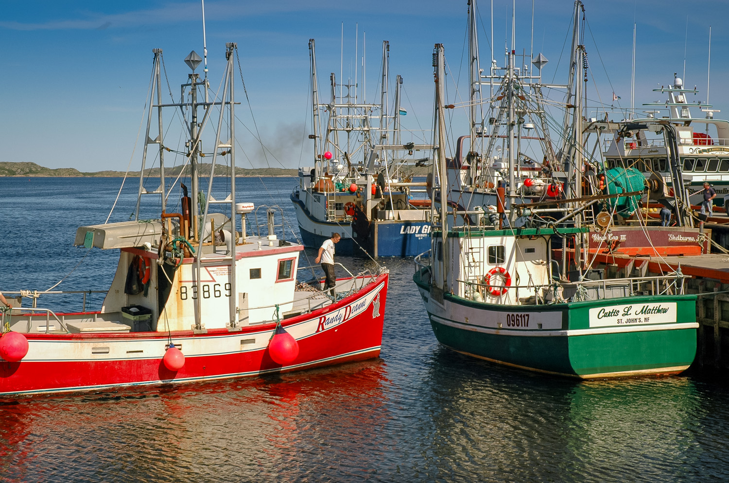 Fishing Boats, Mary's Harbour, Labrador