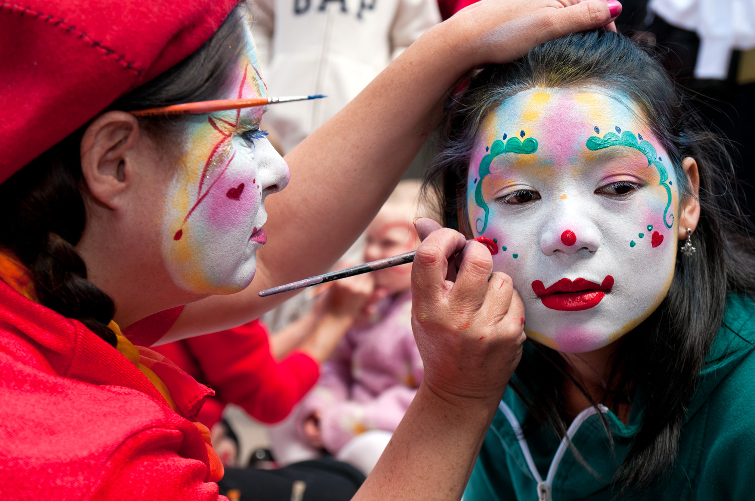 Face painting, Canada Day, Ottawa