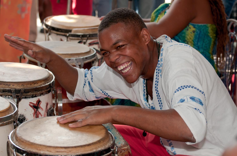 Let's rumba - Callejon de Hamel, Havana, Cuba
