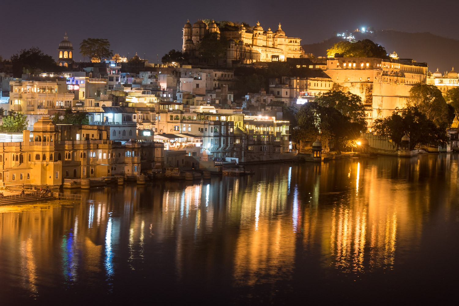 Udaipur at night